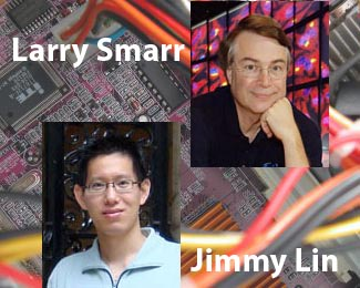 Jimmy Lin and Larry Smarr